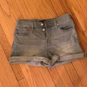 Jcrew high waisted shorts